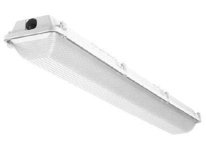 Atlas Lighting Products ILW48LED4D Wet Location Fixture, LED, 4', 120-277V