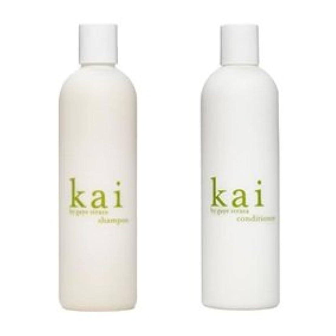 伝染性例然とした〈海外直送品〉kai shampoo & conditioner カイ シャンプー&コンディショナー セット 各10オンス