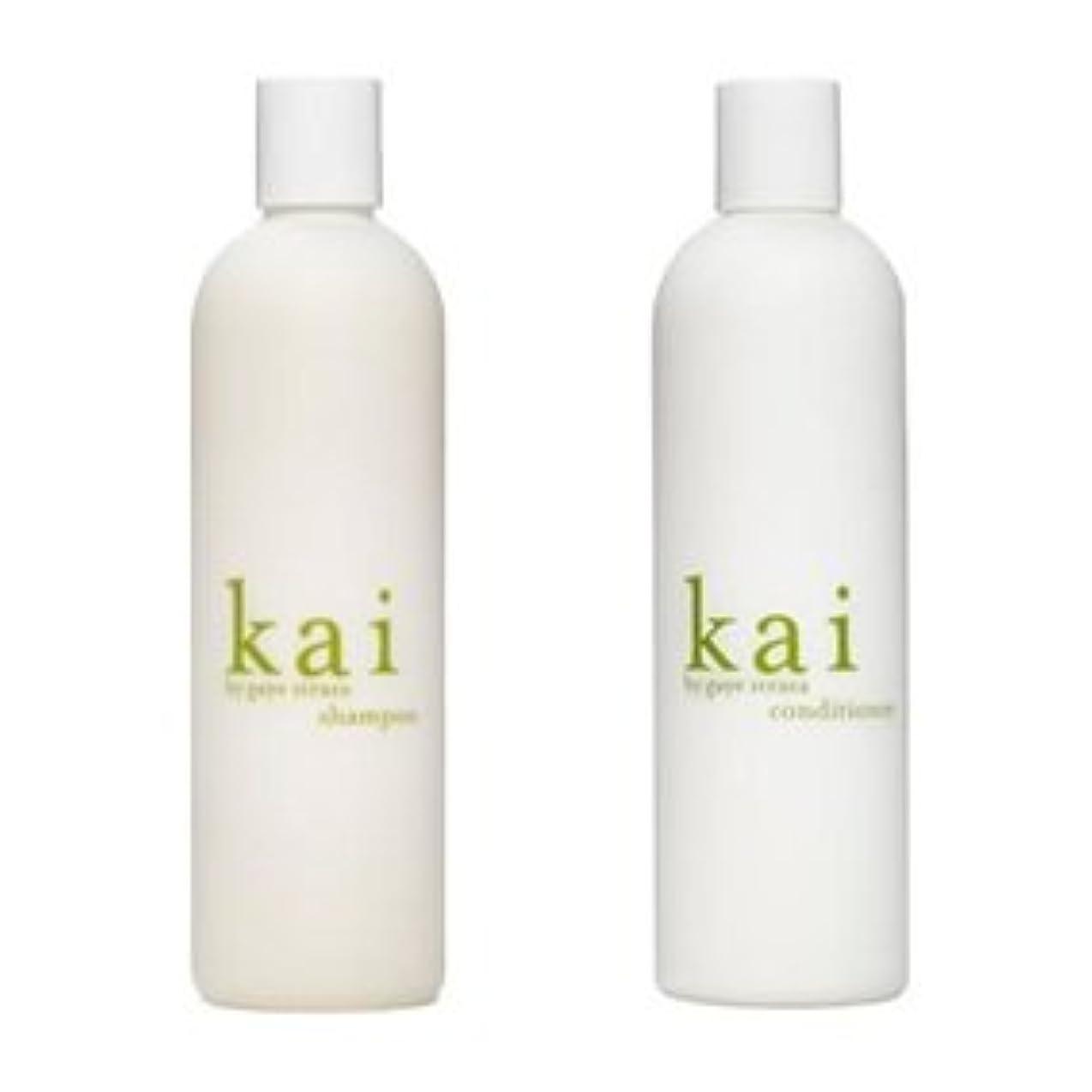 人柄私達レーザ〈海外直送品〉kai shampoo & conditioner カイ シャンプー&コンディショナー セット 各10オンス