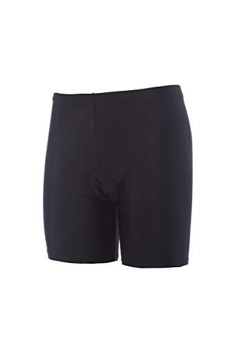 rh+ Bikingw Inn SHR, Pantalone da Ciclismo Uomo, Black, XS