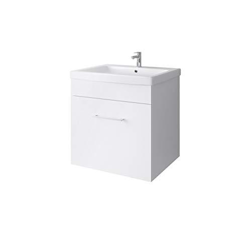 Planetmeubel wastafel keramische wasbak badmeubel 60 cm voor badkamer toilet