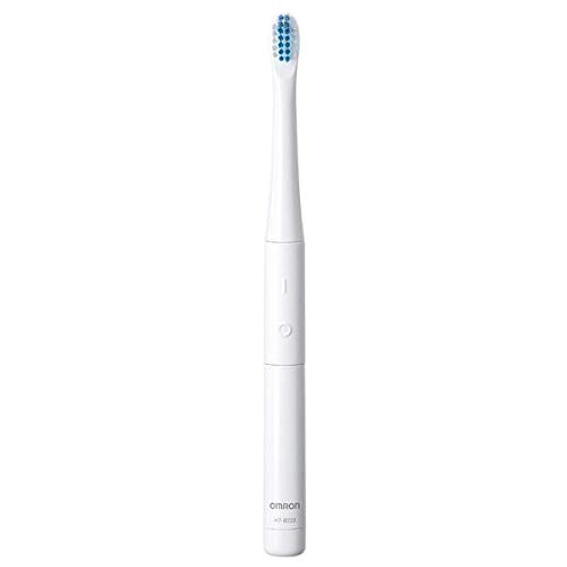 かみそり天のマイナーオムロン 電動歯ブラシ(ホワイト)OMRON 音波式 HT-B223-W