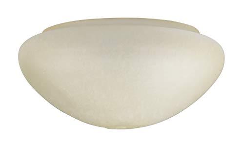 Westinghouse Lighting Scavo Tulipa Ámbar en Forma de Seta, Blanco