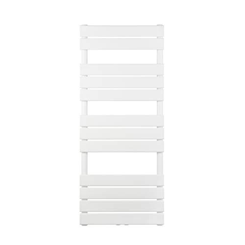 VILSTEIN Flachheizkörper, Horizontal, Weiß, Seitenanschluss und Mittelanschluss, 1200x500 mm