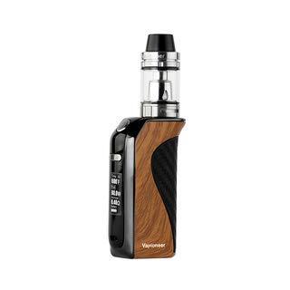 Vapioneer® Rival Braun | E-Zigarette 5-80 Watt Leistung | E- Shisha mit 2ml Tankinhalt für Liquid | Dampfer mit 2600 mAh Akku | Ohne Nikotin