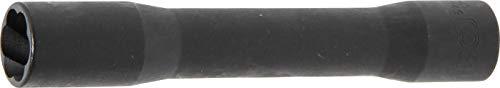 BGS 5264-17 | Spiral-Profil-Steckschlüssel-Einsatz / Schraubenausdreher, tief | Antrieb Innenvierkant 12,5 mm (1/2