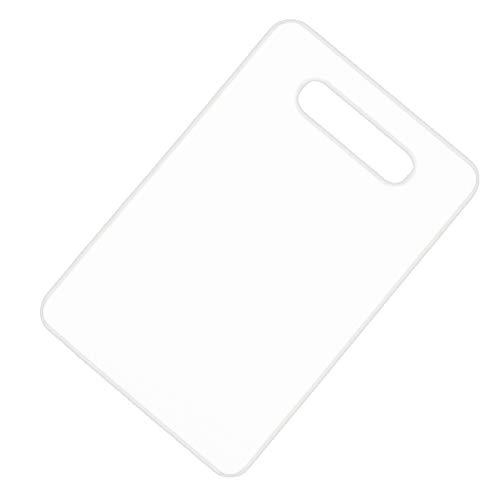 Fuyamp Flexibles Schneidebrett-Set aus Kunststoff, BPA-frei, nicht porös, spülmaschinenfest (weiß)