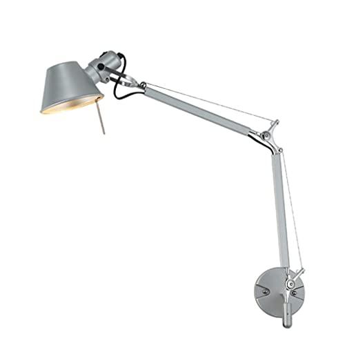 B Blesiya Modern Retro E27 Lampada da parete regolabile con braccio oscillante Lampada da comodino a parete leggera per soggiorno Sala da pranzo di casa Lettura
