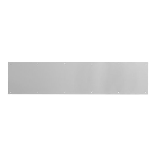 Prime-Line MP4754 Kick Plate, 8 x 36-Inches, Satin Aluminum, 8 in x 36 in x .03 in