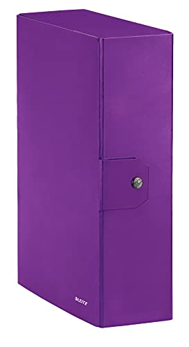 Leitz WOW cartella progetti - dim. 25 x 35 cm dorso 10 cm - Viola - 39680062