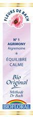 Biofloral, Flores De Bach 01 Agrimony - Agrimonia Bio Demete
