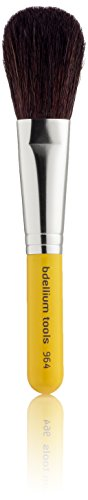 Bdellium Tools - Pennello viso per blush, professionale e antibatterico, linea viaggio