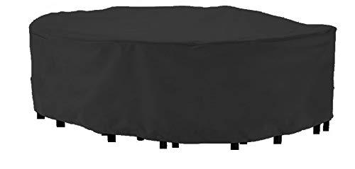 HBCOLLECTION Deluxe Polyestere Copri Telo di Copertura per sedie e Tavolo Rettangolare 320cm