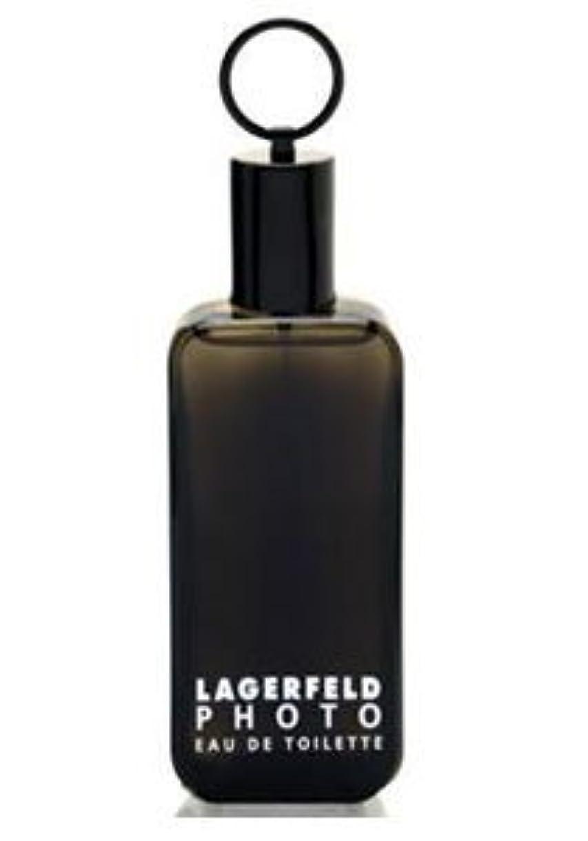 呼び出す逆さまに確認するPhoto (フォト) 4.2 oz (125ml) EDT Spray by Karl Lagerfeld for Men