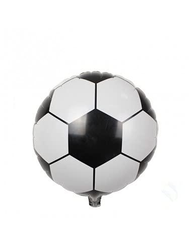 Gran Festival - Globo de Foil balón fútbol 45x45 cm + Tubo inflador