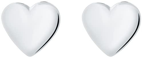 イヤリングTed Baker Harly Tiny Heart Stud Silver Earring[並行輸入品]