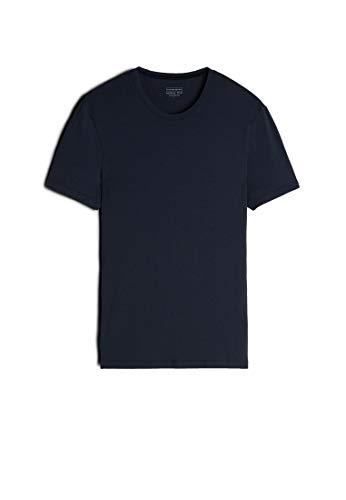 Intimissimi Herren T-Shirt aus Modal und Seide Rundhalsausschnitt