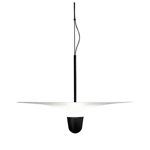 LED Modern Stilvoll Pendelleuchte Persönlichkeit Schickes Hängelampe,Wohnzimmer Lampe Schlafzimmerlampe Restaurantlampe Cafélampe Flur Lampe Kreativität Novel Hängeleuchte Qualle Lampentyp L30cm 7W