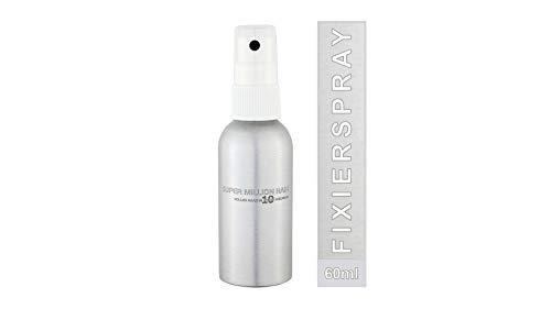 Super Million Hair Fixierspray, fixierendes Haar-Spray für Schütthaar Streuhaare Fasern und Haarverdichtung 60 ml