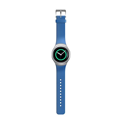 XUEMEI Silicone Smart Watch Band Correas De Colores Sólidas para Samsung Gear S2 SM-R720 SM-R730 Pulsera Deportiva Correa Adulto (Color : 7)