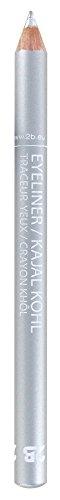 2B Khôl 01 potlood, wit 28 solide zilver.