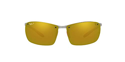 Ray-Ban MOD. 8305M Ray-Ban Sonnenbrille MOD. 8305M Rechteckig Sonnenbrille 64, Silber
