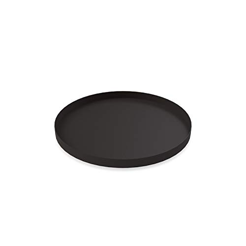 Cooee Design Tray Tablett, Edelstahl, Schwarz, 30 cm