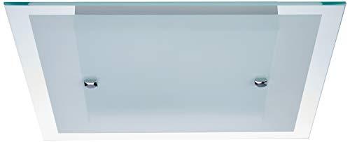 Plafon, Auremar, Cristal 7804-FO, Branco,