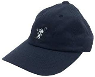 Peanuts Life Work Design UV CARE LOGO CAP ガーデニング 日よけ フェス 帽子 男女兼用 ピーナツ スヌーピー 可愛い (Navy)