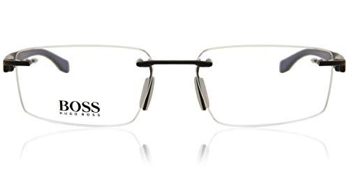 Eyeglasses Boss Black Boss 710 0AAB Bksm Dark Ruthenium