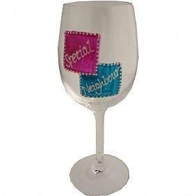 Bijzondere Buurt Wijnglas
