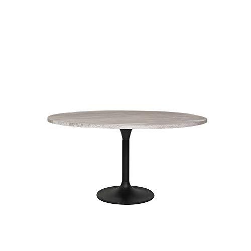 Light & Living Eettafel Ø120x78 cm BIBOCA acacia hout grijs-zwart