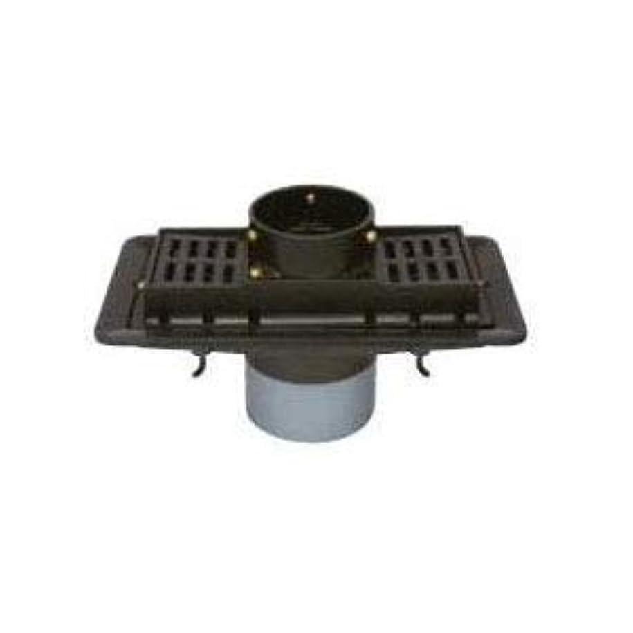 発言する平均エスカレートカネソウ 鋳鉄製ルーフドレイン たて引き用 打込型 バルコニー中継用(呼称100) KRST-2-100