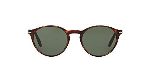Persol Suprema Occhiali da Sole, Marrone (Havana/Green), 50 Uomo