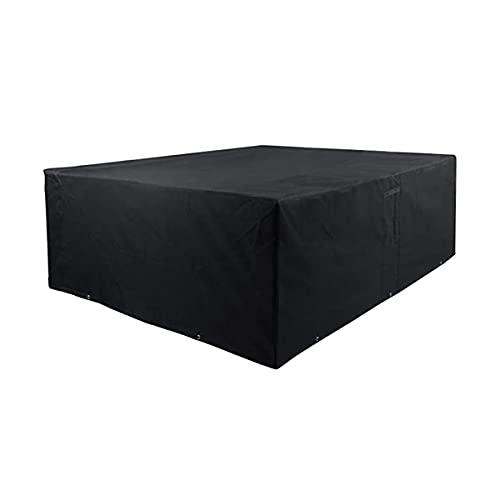 HTLLT Gartenmöbelbezug, Stuhlbezug, Schutzhülle für Terrassenmöbel, UV-beständiger Oxford-Stoff für Patio Im Freien Patio,330 * 220 * 90cm