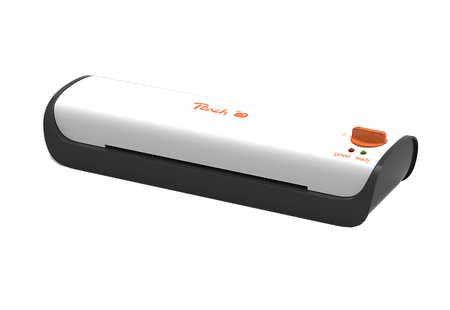 Peach PL102 Highspeed Laminiergerät DIN-A4 , Preis-/Leistungs-Sieger , schnellste Aufwärmzeit ,2 Seiten pro Minute , inkl. 10 Laminierfolien
