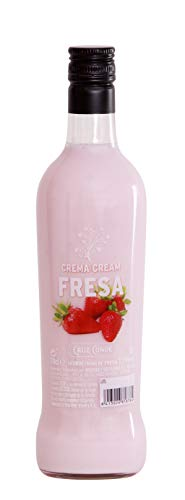 Licor Crema Fresa/Nata Cruz Conde 15º 700ml.