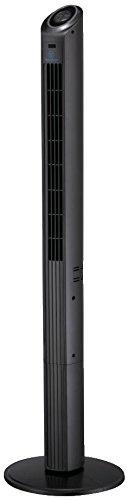 Westinghouse Lighting 7272340 Ventilador de Torre oscilante Highland I con Mando a Distancia y Temporizador, Acabado Negro, 40 W, 230 V, Antracita, 120 cm