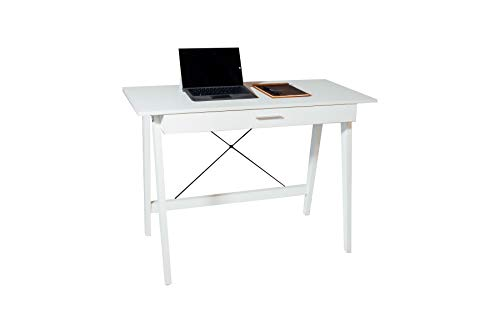 OneSpace Newport Drawer, White Computer Desk