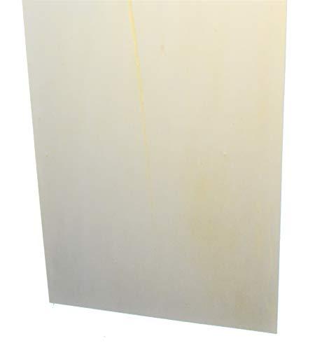 Hagspiel Laubsägeholz, 10 Stk. Sperrholz, Sperrholzplatten, Pappel 4 mm DIN A4 (30 cm x 21 cm), II. Wahl