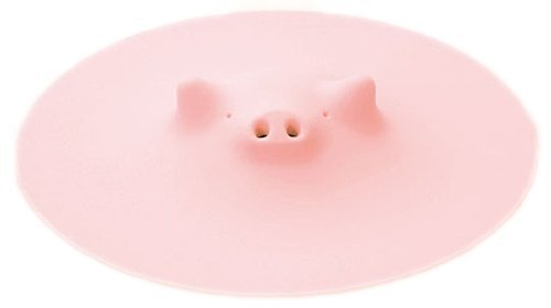 Lid That Can Be Placed Deep Inside the Pot of Pink Pig Myrna Zoos
