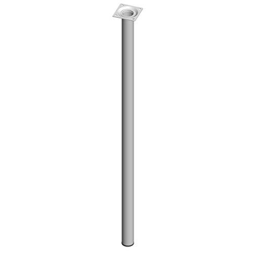 Element System 18133-00277 Pied Tubulaire en Acier L 700 mm Ø 30 mm Blanc 4 pièces