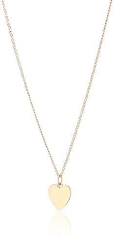 Fossil Damen Halskette Heart Gold-Tone Stainless Steel JF03080710