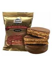 Mardel - Alfajores Dulce de Leche bedekt met donkere chocolade - Doos van 12 stuks