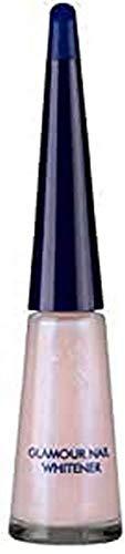 Herome Glamour Nagel Aufheller (Nail Whitener) - 10ml. - Whitening Nagellack - Einen Herrlichen, Zart-Rosa Perlmuttglanz und Weißere Nagelränder