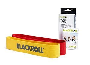 BLACKROLL Loop Band Set,Yellow/red Yellow/red - 6.2