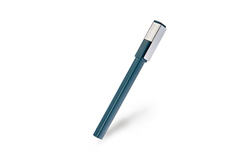 Moleskine Writing Collection - Bolígrafo Medio 0.7, color verde marea
