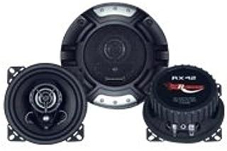 Renegade RX42 altavoz audio De 2 vías 120 W - Altavoces para coche (De 2 vías, 120 W, 60 W, 4 Ω, 80-20000 Hz, 9,4 cm)