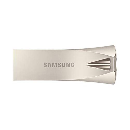 Samsung Memorie Bar Plus USB Flash Drive, USB 3.1, Type-A, Velocità di Lettura Fino a 400 MB/s, 256 GB, Argento (MUF-256BE3)
