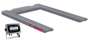 Ohaus VE - Báscula industrial para palés, 1500 kg